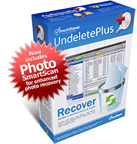 eSupport UndeletePlus box - Now includes Photo SmartScan Technology